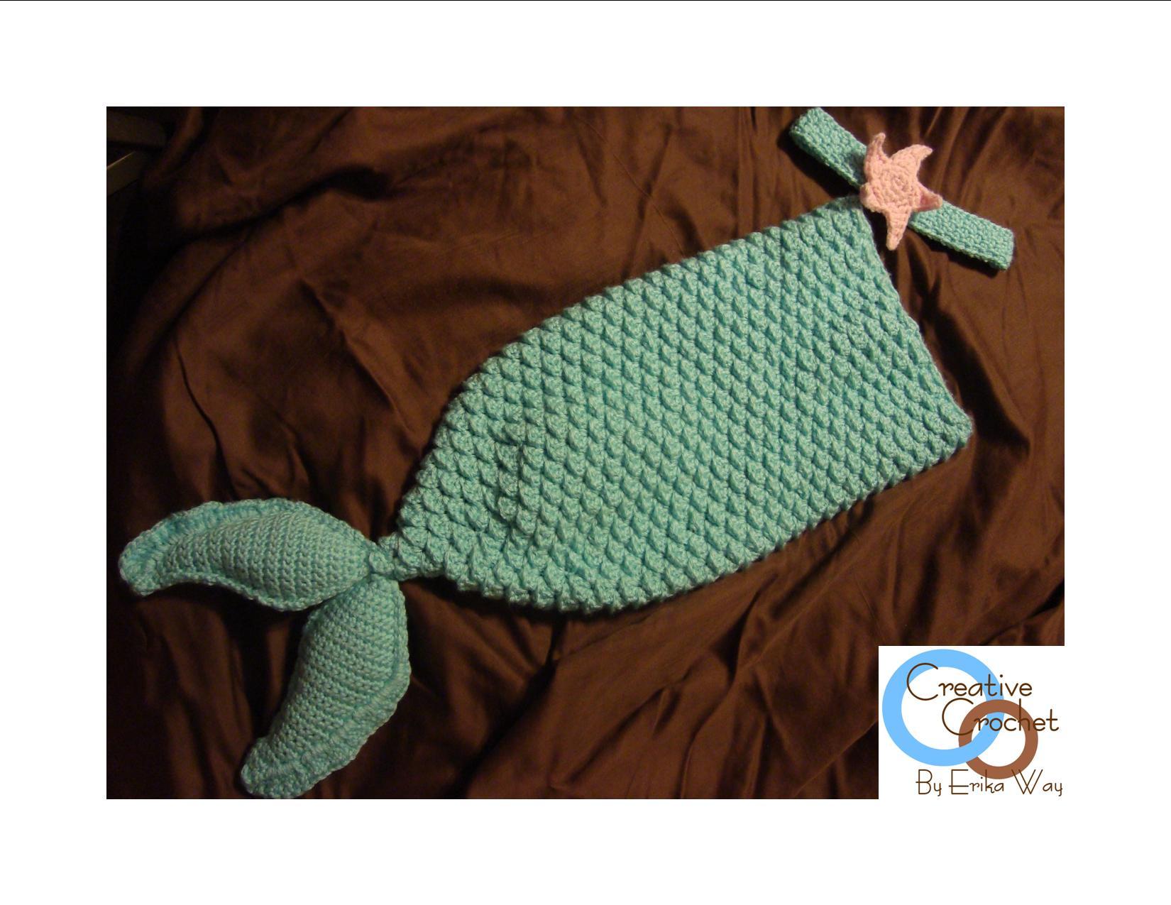 Mermaid Tail Pattern - Viewing Gallery